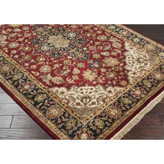 "Surya Taj Mahal Maroon (TJ-2000) Rectangle 2'0"" x 3'0"""
