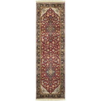 "Surya Taj Mahal Maroon (TJ-2000) Rectangle 2'6"" x 8'0"""