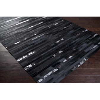 "Surya Trail Jet Black (TRL-1121) Rectangle 8'0"" x 10'0"""