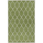 "Surya Jill Rosenwald Zuna Palm Green (ZUN-1019) Rectangle 5'0"" x 8'0"""